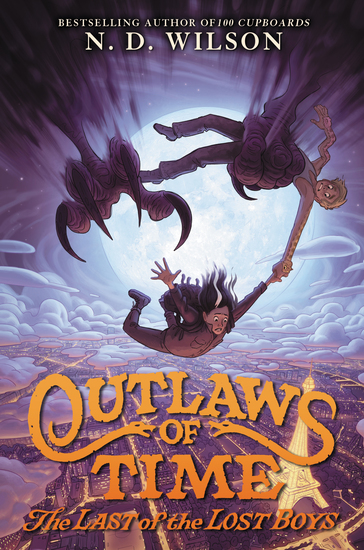 Outlaws of Time #3: The Last of the Lost Boys - cover