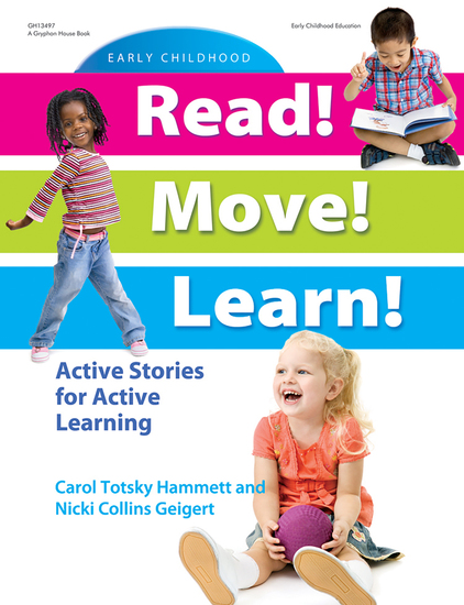 Read! Move! Learn! - Active Stories for Active Learning - cover