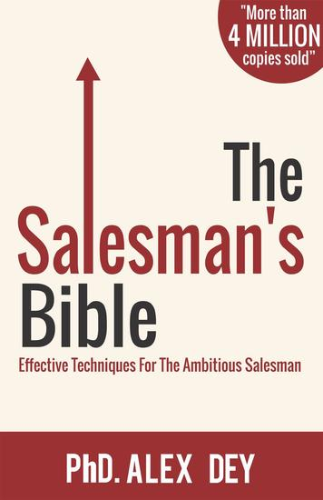 The Salesman's Bible: Effective Techniques for the Ambitious Salesman - cover
