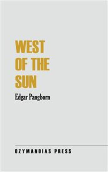 West of the Sun - cover