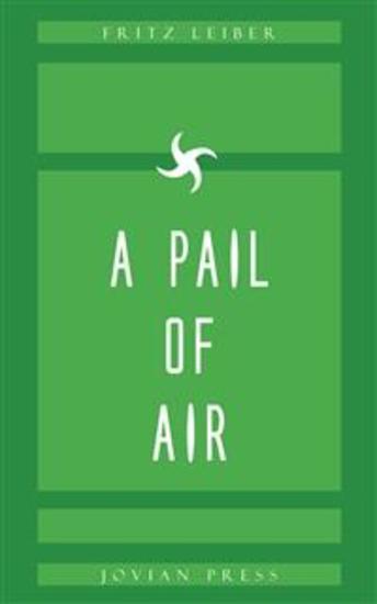 A Pail of Air - cover