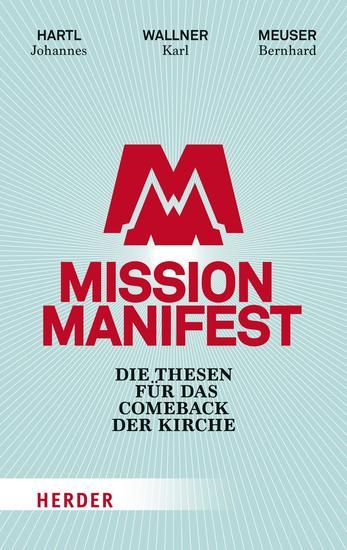 Mission Manifest - Die Thesen für das Comeback der Kirche - cover
