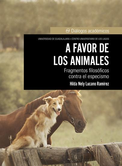 A favor de los animales - Fragmentos filosóficos contra el especismo - cover