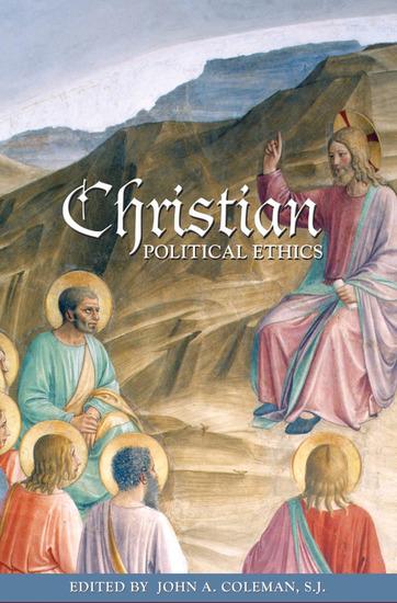 Christian Political Ethics - cover