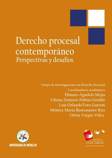 Derecho procesal contemporáneo - Perspectivas y desafíos - cover