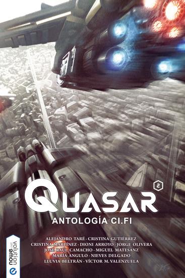 Quasar 2 - Antología ci-fi - cover