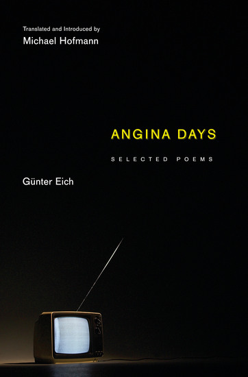 Angina Days - Selected Poems - cover