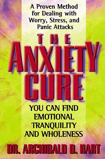 The Anxiety Cure - cover