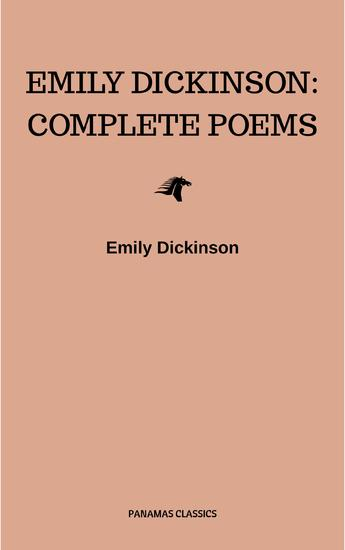 Emily Dickinson: Complete Poems - cover