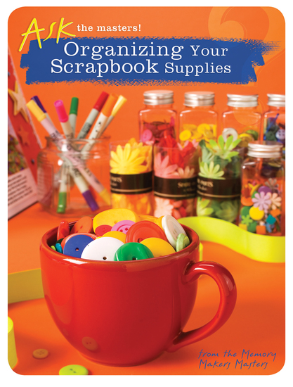 Organizing Your Scrapbook Supplies - cover
