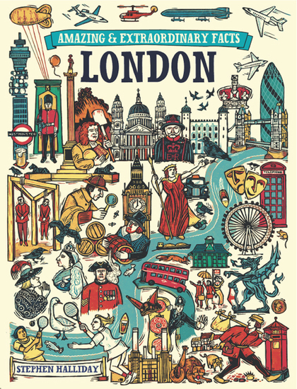Amazing & Extraordinary Facts - London - cover