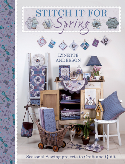 Stitch It For Spring - Seasonal Sewing Projects to Craft and Quilt - cover