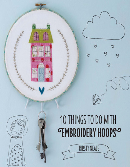 10 Things to do with Embroidery Hoops - Unique and inspiring projects to decorate your home - cover