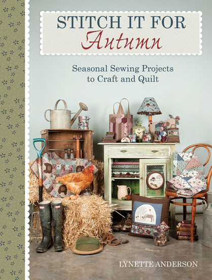 Stitch it for Autumn - Seasonal Sewing Projects to Craft and Quilt - cover
