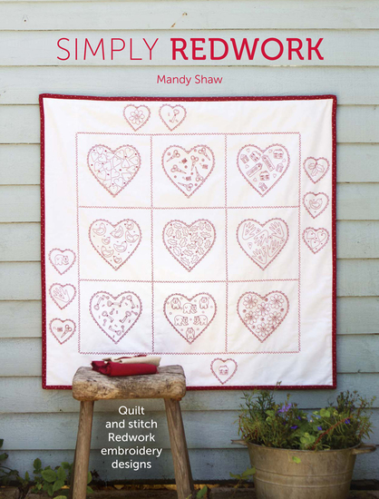 Simply Redwork - Quilt & Stitch Redwork Embroidery Designs - cover