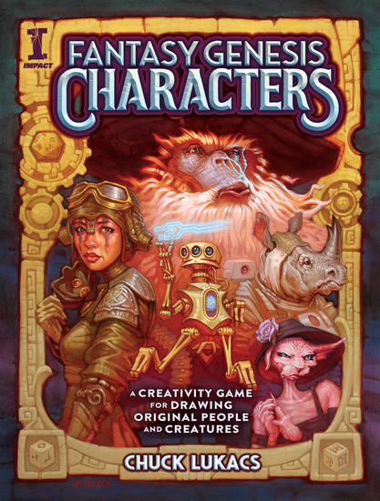 Fantasy Genesis Characters - A creativity game for drawing original people and creatures - cover