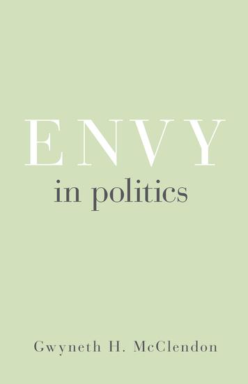 Envy in Politics - cover
