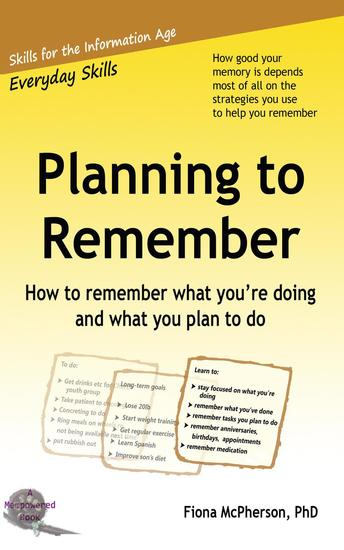 Planning to Remember - cover