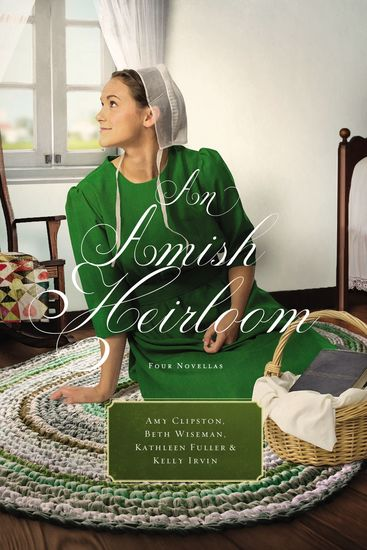 An Amish Heirloom - A Legacy of Love The Cedar Chest The Treasured Book The Midwife's Dream - cover