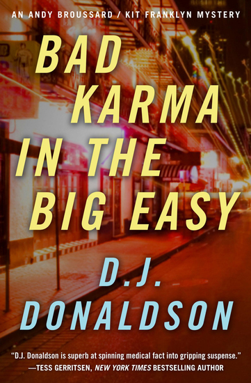 Bad Karma in the Big Easy - cover