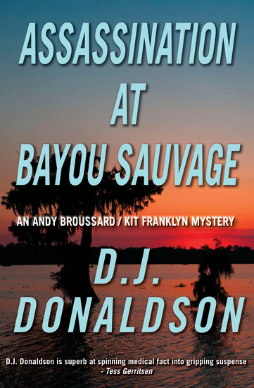 Assassination at Bayou Sauvage - cover