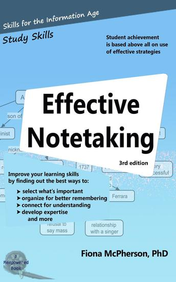 Effective Notetaking (3rd ed) - Study Skills #1 - cover
