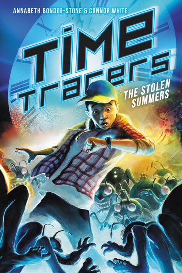 Time Tracers: The Stolen Summers - cover