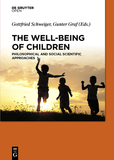 The Well-Being of Children - Philosophical and Social Scientific Approaches - cover