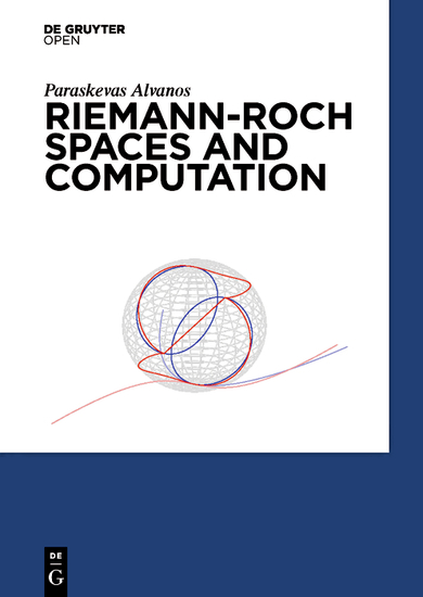 Riemann-Roch Spaces and Computation - cover