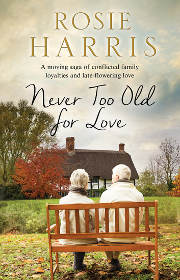 Never Too Old for Love - A contemporary family saga - cover