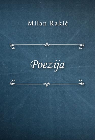 Poezija - cover