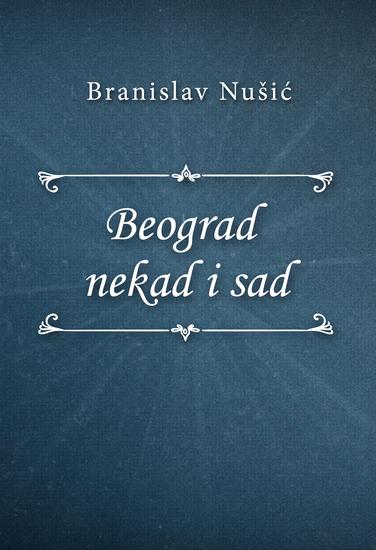 Beograd nekad i sad - cover