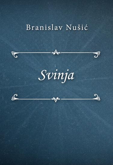 Svinja - cover