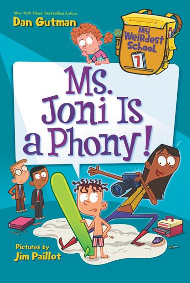 My Weirdest School #7: Ms Joni Is a Phony! - cover