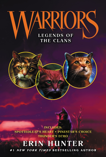 Warriors: Legends of the Clans - cover