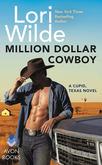 Million Dollar Cowboy - A Cupid Texas Novel - cover