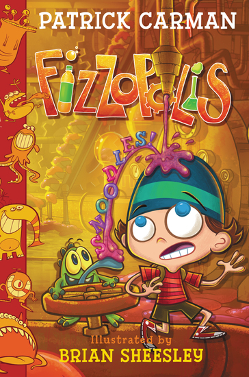Fizzopolis #3: Snoodles! - cover