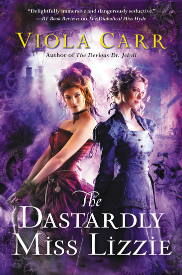 The Dastardly Miss Lizzie - An Electric Empire Novel - cover