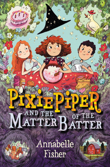 Pixie Piper and the Matter of the Batter - cover