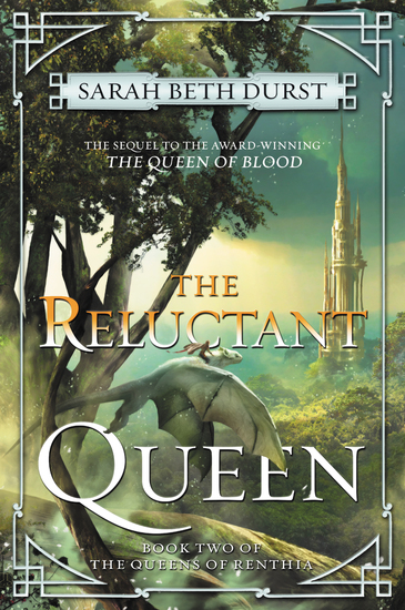 The Reluctant Queen - Book Two of The Queens of Renthia - cover