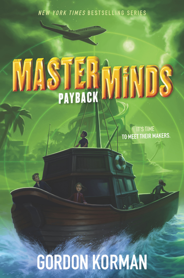 Masterminds: Payback - cover