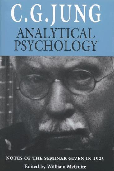 Analytical Psychology - Notes of the Seminar Given in 1925 - cover