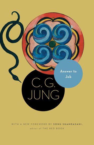 Answer to Job - (From Vol 11 of the Collected Works of C G Jung) - cover