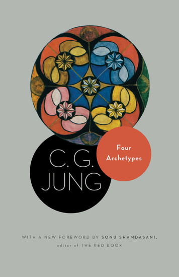 Four Archetypes - (From Vol 9 Part 1 of the Collected Works of C G Jung) - cover