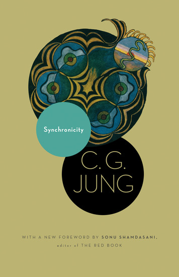 Synchronicity - An Acausal Connecting Principle (From Vol 8 of the Collected Works of C G Jung) - cover