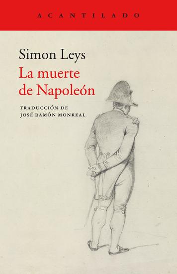 La muerte de Napoleón - cover