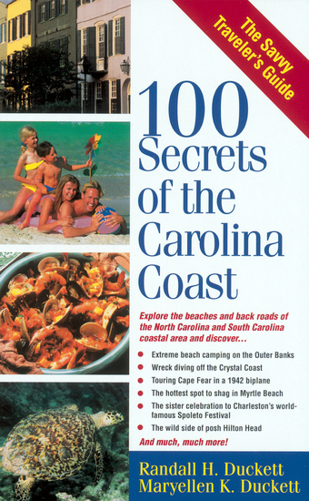 100 Secrets of the Carolina Coast - cover