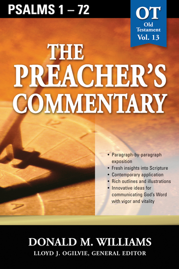 The Preacher's Commentary - Vol 13: Psalms 1-72 - cover