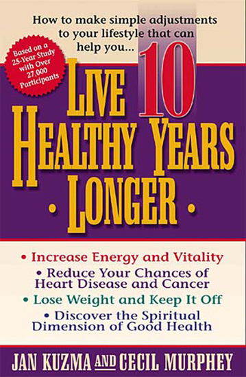 Live 10 Healthy Years Longer - cover