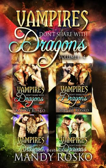 Vampires Don't Share With Dragons 4 in 1 - Vampires Don't Share With Dragons - cover